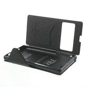Okýnkové pouzdro na mobil Sony Xperia Z1 - tmavěmodré - 6