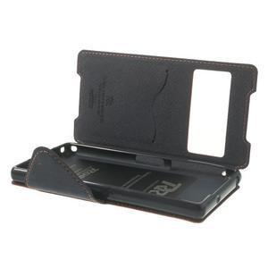 Okýnkové pouzdro na mobil Sony Xperia Z2 - červené - 6