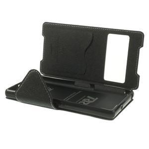 Okýnkové pouzdro na mobil Sony Xperia Z2 - bílé - 6