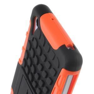 Outdoor odolný kryt na mobil Sony Xperia Z2 - oranžový - 6