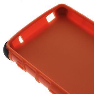 Odolný ochranný kryt na Sony Xperia Z3 Compact - oranžový - 6