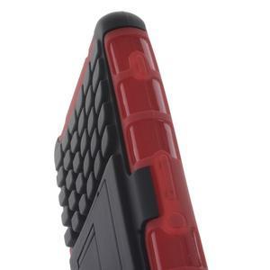 Odolný ochranný kryt na Sony Xperia Z3 Compact - červený - 6