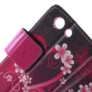 Pictu peněženkové pouzdro na Sony Xperia Z3 Compact - srdce - 6
