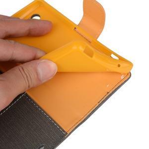 Texture pouzdro na mobil Sony Xperia Z3 Compact - šedé - 6