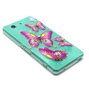 Gelový obal na mobil Sony Xperia Z3 Compact - motýlkové - 6
