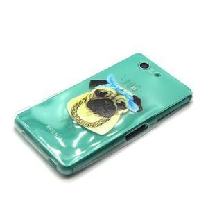 Gelový obal na mobil Sony Xperia Z3 Compact - mops - 6