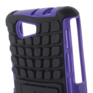 Odolný ochranný kryt na Sony Xperia Z3 Compact - fialový - 6