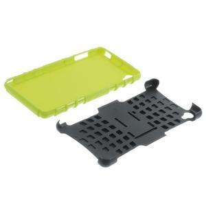 Outdoor ochranný kryt na mobil Sony Xperia Z3 - zelený - 6