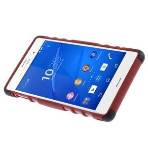 Outdoor ochranný kryt na mobil Sony Xperia Z3 - červený - 6