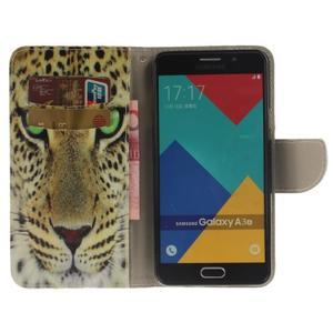 Patt peněženkové pouzdro na Samsung Galaxy A3 (2016) - leopard - 6