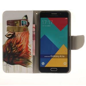 Patt peněženkové pouzdro na Samsung Galaxy A3 (2016) - vlk - 6