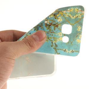 Silk gelový kryt na mobil Samsung Galaxy A3 (2016) - rozkvetlý strom - 6
