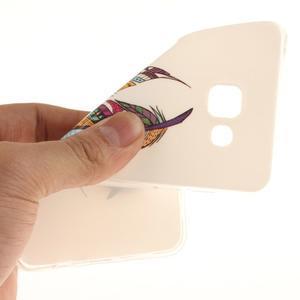Silk gelový kryt na mobil Samsung Galaxy A3 (2016) - peříčka - 6