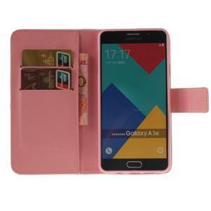 Pouzdro na mobil Samsung Galaxy A3 (2016) - červené peříčko - 6