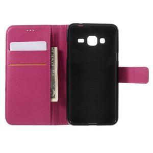 Peněženkové pouzdro na mobil Samsung Galaxy J3  (2016) - rose - 6