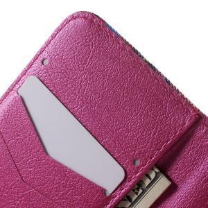 Peněženkové pouzdro na Samsung Galaxy Trend 2 Lite - srdce - 6