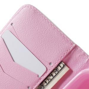 Peněženkové pouzdro na Samsung Galaxy Trend 2 Lite - pampelišky - 6