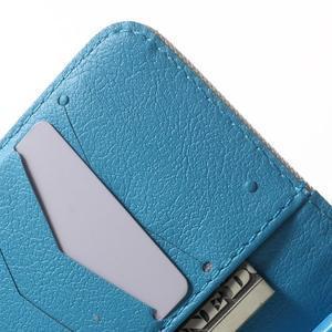 Peněženkové pouzdro na Samsung Galaxy Trend 2 Lite - modrý slon - 6