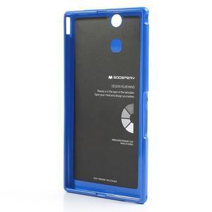 JellyGospery gelový obal na mobil Sony Xperia Z Ultra - modrý - 6
