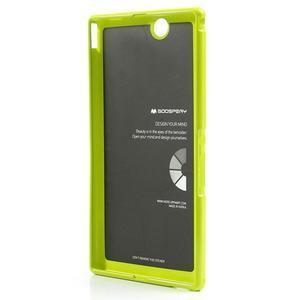 JellyGospery gelový obal na mobil Sony Xperia Z Ultra - zelený - 6