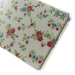Emotive gelový obal na Sony Xperia Z2 - květiny - 6