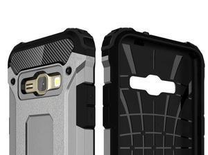 Armory odolný obal na mobil Samsung Galaxy J1 (2016) - šedý - 6