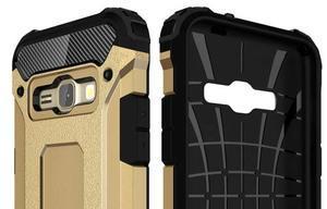 Armory odolný obal na mobil Samsung Galaxy J1 (2016) - zlatý - 6