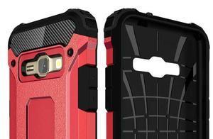 Armory odolný obal na mobil Samsung Galaxy J1 (2016) - červený - 6