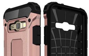 Armory odolný obal na mobil Samsung Galaxy J1 (2016) - růžovozlatý - 6