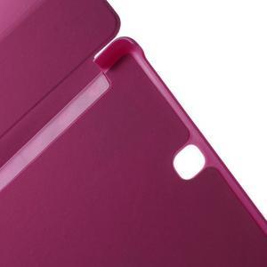 Trifold polohovatelné pouzdro na Samsung Galaxy Tab A 9.7 - rose - 6