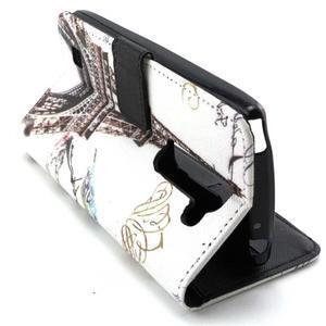 Peneženkové pouzdro na mobil LG G4c - Eiffelova věž - 6