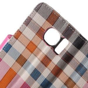 Módní stylové pouzdri na Samsung Galaxy S6 - rose - 6