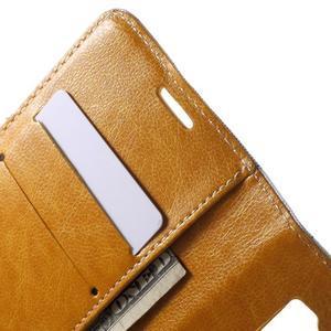 Módní stylové pouzdri na Samsung Galaxy S6 - oranžové - 6