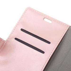 Horse PU kožené pouzdro na mobil Honor 7 Lite - růžové - 6