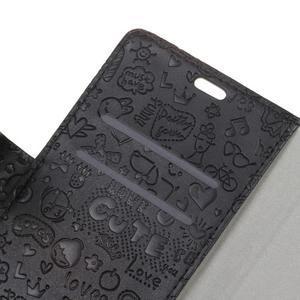 Cartoo pouzdro na mobil Honor 7 Lite - černé - 6