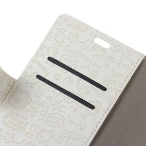 Cartoo pouzdro na mobil Honor 7 Lite - bílé - 6