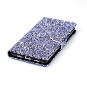 Pouzdro na mobil Huawei P8 Lite - textury květin - 6