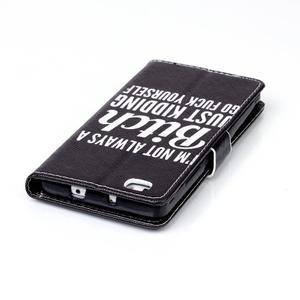 Pouzdro na mobil Huawei P8 Lite - bitch - 6