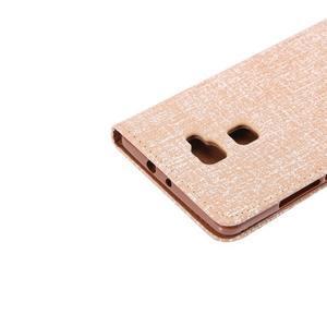Style knížkové pouzdro na mobil Huawei Mate S - oranžovohnědé - 6