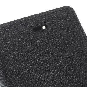 Diary PU kožené pouzdro na telefon Huawei P9 Lite - černé - 6
