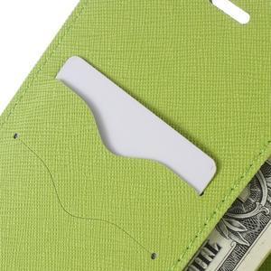Diary PU kožené pouzdro na telefon Huawei P9 Lite - tmavěmodré - 6