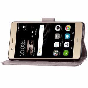 Cloverleaf peněženkové pouzdro na Huawei P9 Lite - šedé - 6