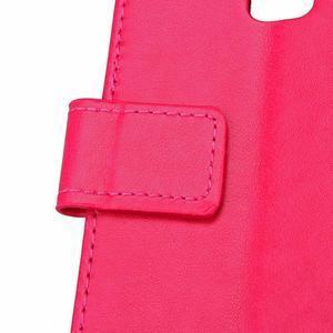 Cloverleaf peněženkové pouzdro na Huawei P9 Lite - rose - 6