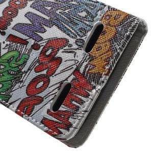 Emotive peněženkové pouzdro na mobil Lenovo A6000 - boom - 6