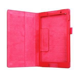 Dvoupolohové pouzdro na tablet Lenovo Tab 2 A8-50 - červené - 6