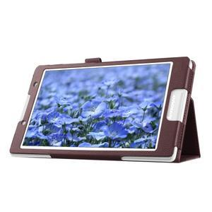 Dvoupolohové pouzdro na tablet Lenovo Tab 2 A8-50 - hnědé - 6