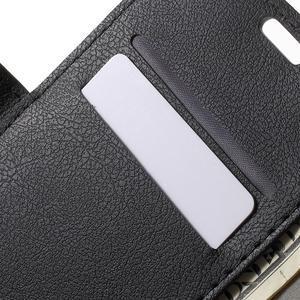 Peněženkové pouzdro na mobil Lenovo Vibe S1 - černé - 6