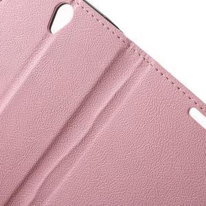 Peněženkové pouzdro na mobil Lenovo Vibe S1 - růžové - 6