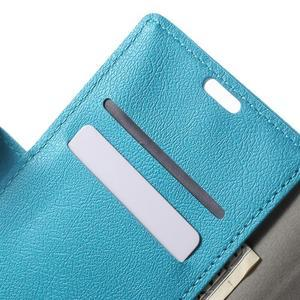 Peněženkové pouzdro na mobil Lenovo Vibe S1 - modré - 6