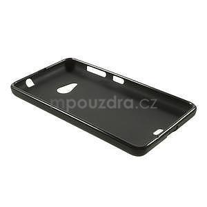 Matný gelový obal Microsoft Lumia 535 - černý - 6